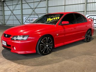 2002 Holden Commodore VY SS Red 4 Speed Automatic Sedan.