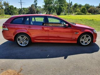 2011 Holden Commodore VE Series II SV6 Red Sports Automatic Wagon.