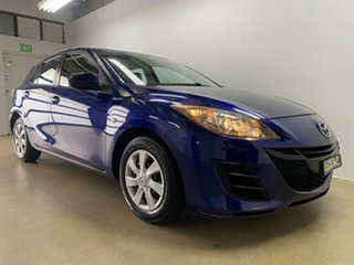 2010 Mazda 3 BL Neo Blue 6 Speed Manual Hatchback.