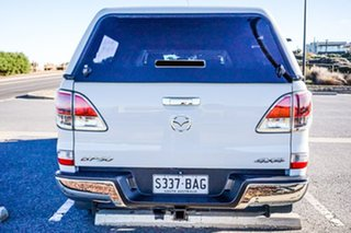 2013 Mazda BT-50 UP0YF1 XTR 4x2 Hi-Rider White 6 Speed Manual Utility