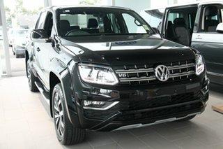 2020 Volkswagen Amarok 2H MY21 TDI580 4MOTION Perm Aventura Deep Black Pearl Effect 8 Speed.