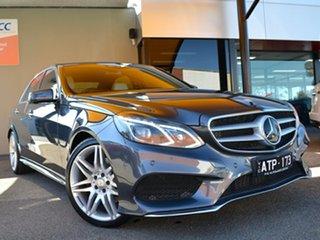 2015 Mercedes-Benz E-Class W212 806MY E250 CDI 7G-Tronic + Grey 7 Speed Sports Automatic Sedan.