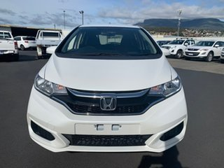 2018 Honda Jazz GF MY19 VTi White 5 Speed Manual Hatchback