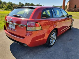 2011 Holden Commodore VE Series II SV6 Red Sports Automatic Wagon