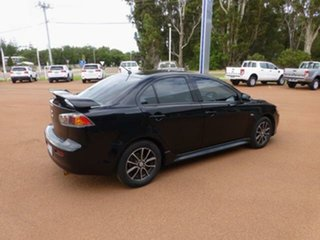 2014 Mitsubishi Lancer CJ MY14 ES Black 6 Speed CVT Auto Sequential Sedan