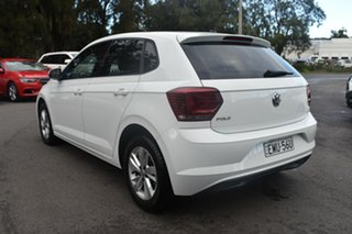 2018 Volkswagen Polo AW MY18 85TSI Comfortline White 6 Speed Manual Hatchback