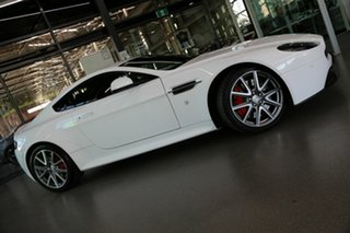 2015 Aston Martin V8 MY16 Vantage Sportshift II GT White 7 Speed Seq Manual Auto-Clutch Coupe.