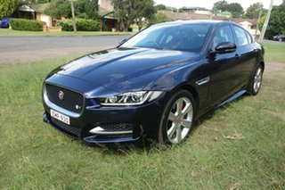2016 Jaguar XE X760 MY16 R-Sport Blue 8 Speed Sports Automatic Sedan