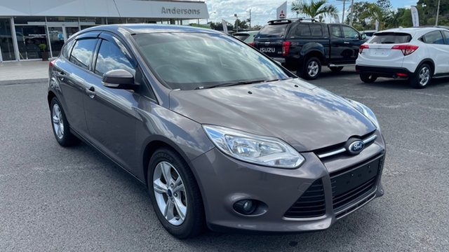 Used Ford Focus LW MkII Trend PwrShift Gladstone, 2013 Ford Focus LW MkII Trend PwrShift Grey 6 Speed Sports Automatic Dual Clutch Hatchback