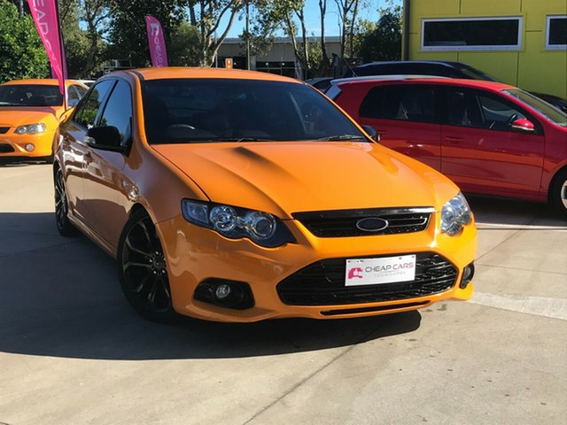 Used Ford Falcon FG MkII XR6 Turbo Toowoomba, 2014 Ford Falcon FG MkII XR6 Turbo Orange 6 Speed Sports Automatic Sedan