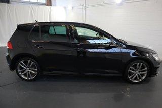 2017 Volkswagen Golf VII MY17 110TSI DSG Highline Black 7 Speed Sports Automatic Dual Clutch