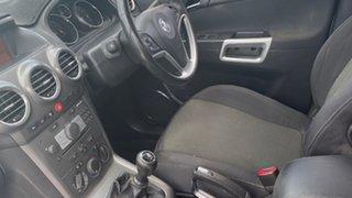 2009 Holden Captiva CG MY10 5 White 5 Speed Manual Wagon