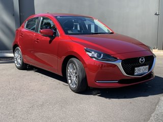 2021 Mazda 2 DJ2HAA G15 SKYACTIV-Drive Evolve Soul Red Crystal 6 Speed Sports Automatic Hatchback.