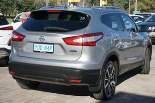 2015 Nissan Qashqai J11 TI Silver 1 Speed Constant Variable Wagon