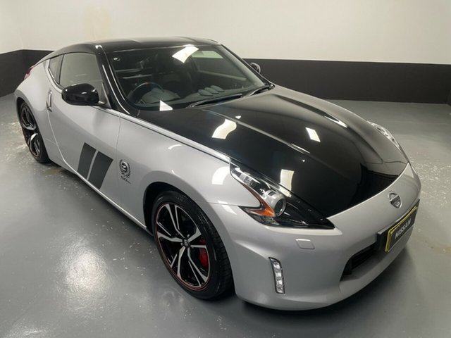 Used Nissan 370Z Z34 MY20 50th Anniversary Hamilton, 2019 Nissan 370Z Z34 MY20 50th Anniversary Silver 7 Speed Sports Automatic Coupe