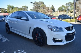 2016 Holden Commodore VF II MY16 SS V Redline White 6 Speed Sports Automatic Sedan.