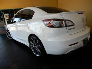 2010 Mazda 3 BL 10 Upgrade SP25 White 5 Speed Automatic Sedan.