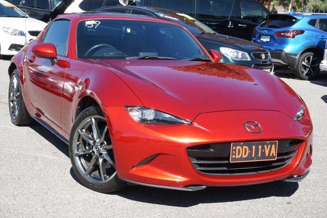 Used Mazda MX-5 ND GT SKYACTIV-Drive Phillip, 2017 Mazda MX-5 ND GT SKYACTIV-Drive Red 6 Speed Sports Automatic Roadster