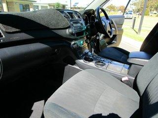 2008 Toyota Kluger GSU45R KX-R (4x4) 7 Seat Silver 5 Speed Automatic Wagon