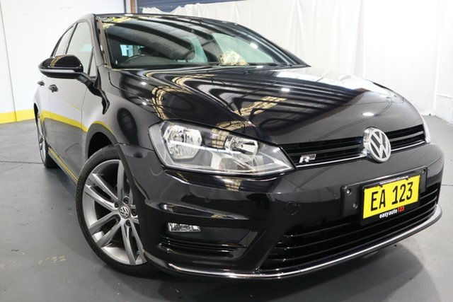 Used Volkswagen Golf VII MY17 110TSI DSG Highline Castle Hill, 2017 Volkswagen Golf VII MY17 110TSI DSG Highline Black 7 Speed Sports Automatic Dual Clutch