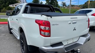 2017 Mitsubishi Triton MQ MY17 GLS Double Cab White Solid 5 Speed Sports Automatic Utility