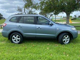 2009 Hyundai Santa Fe CM MY09 SX Blue 5 Speed Sports Automatic Wagon.