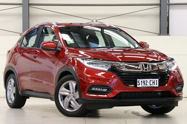 Demo Honda HR-V MY21 VTi-S Glen Osmond, 2021 Honda HR-V MY21 VTi-S Passion Red 1 Speed Constant Variable Hatchback