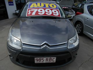 2010 Citroen C4 MY09 Exclusive Grey 4 Speed Automatic Hatchback.