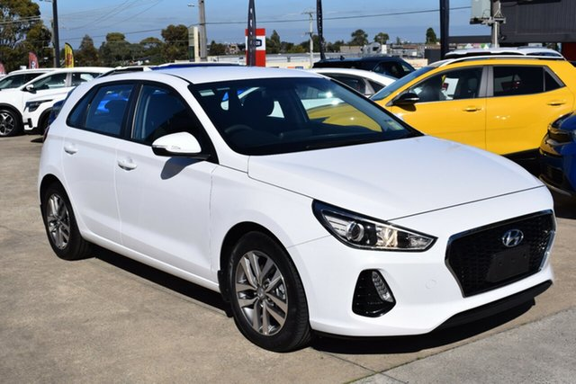 Used Hyundai i30 PD MY18 Active Ferntree Gully, 2018 Hyundai i30 PD MY18 Active White 6 Speed Sports Automatic Hatchback