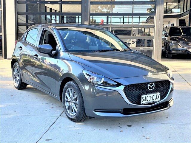 Demo Mazda 2 DJ2HAA G15 SKYACTIV-Drive Pure Edwardstown, 2021 Mazda 2 G15 SKYACTIV-Drive Pure Hatchback