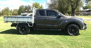 2017 Mazda BT-50 UR0YG1 XT Freestyle Bronze 6 Speed Sports Automatic Cab Chassis