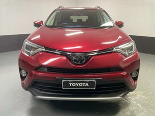2018 Toyota RAV4 ZSA42R GXL 2WD Red 7 Speed Constant Variable Wagon.