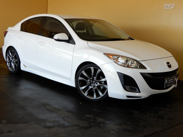 Used Mazda 3 BL 10 Upgrade SP25 Toowoomba, 2010 Mazda 3 BL 10 Upgrade SP25 White 5 Speed Automatic Sedan