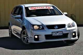 2012 Holden Commodore VE II MY12 SV6 Sportwagon Silver 6 Speed Sports Automatic Wagon.