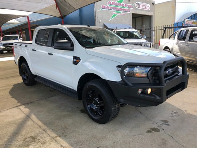 Used Ford Ranger PX MkII MY18 XL 3.2 Plus (4x4) Toowoomba, 2017 Ford Ranger PX MkII MY18 XL 3.2 Plus (4x4) White 6 Speed Automatic Crew Cab Utility