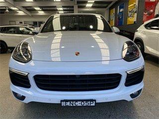 2016 Porsche Cayenne 92A S Diesel White Sports Automatic Wagon.
