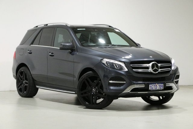 Used Mercedes-Benz GLE250D 166 Bentley, 2015 Mercedes-Benz GLE250D 166 Grey 9 Speed Automatic Wagon