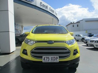 2017 Ford Ecosport BK Trend Yellow 6 Speed Automatic Wagon
