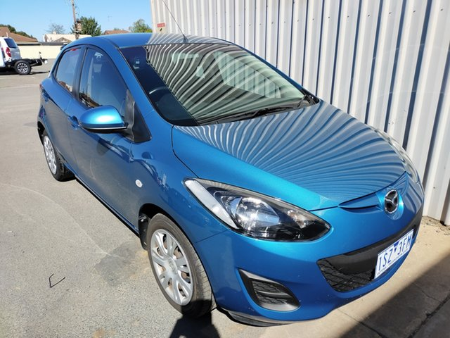Used Mazda 2 DE10Y2 MY12 Neo Horsham, 2012 Mazda 2 DE10Y2 MY12 Neo 4 Speed Automatic Hatchback