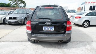 2006 Kia Sportage KM Black 4 Speed Sports Automatic Wagon