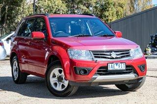 2013 Suzuki Grand Vitara JB MY13 Urban 2WD Navigator Red 4 Speed Automatic Wagon.