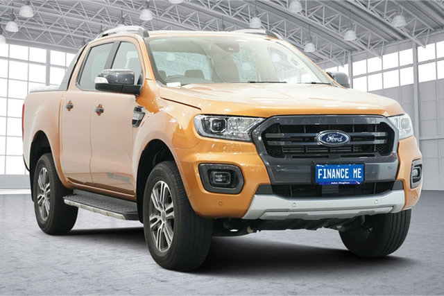 Used Ford Ranger PX MkIII 2020.25MY Wildtrak Victoria Park, 2020 Ford Ranger PX MkIII 2020.25MY Wildtrak Saber 6 Speed Sports Automatic Double Cab Pick Up