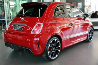 2017 Abarth 595 Series 4 Competizione Dualogic Red 5 Speed Sports Automatic Single Clutch Hatchback