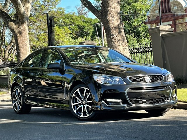 Used Holden Commodore VF II MY16 SS V Hyde Park, 2016 Holden Commodore VF II MY16 SS V Black 6 Speed Sports Automatic Sedan
