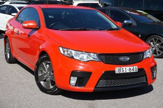 2010 Kia Cerato TD MY10 Koup Red 5 Speed Manual Coupe.