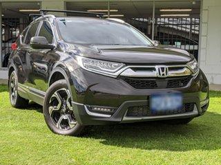 2017 Honda CR-V RW MY18 VTi-LX 4WD Green 1 Speed Constant Variable Wagon.