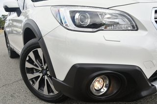 2016 Subaru Outback B6A MY16 3.6R CVT AWD Crystal White 6 Speed Constant Variable Wagon.