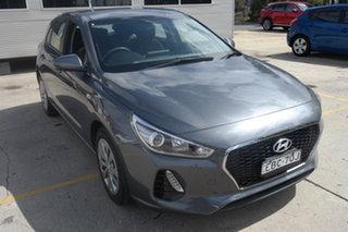 2018 Hyundai i30 PD MY18 Go Grey 6 Speed Manual Hatchback.