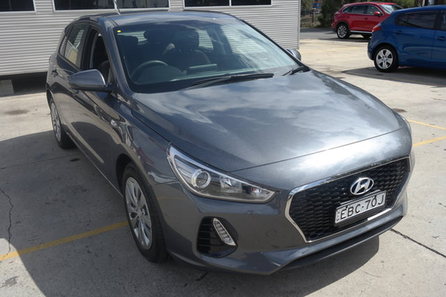 Used Hyundai i30 PD MY18 Go Maryville, 2018 Hyundai i30 PD MY18 Go Grey 6 Speed Manual Hatchback