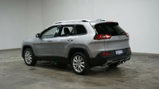 2017 Jeep Cherokee KL MY17 Limited Billet Silver 9 Speed Sports Automatic Wagon.